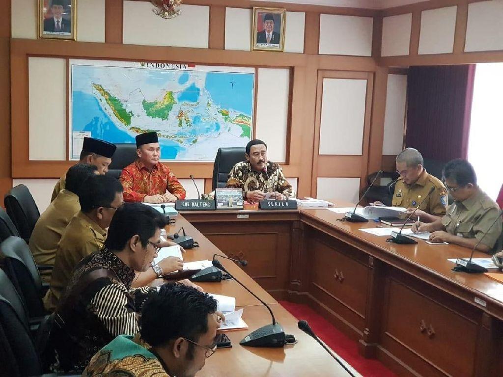 Gubernur Kalteng Konsultasi ke Kemendagri soal DPRD Tak Bahas APBD-P