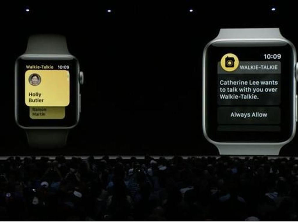WatchOS 5 Bikin Apple Watch Bisa Walkie-Talkie
