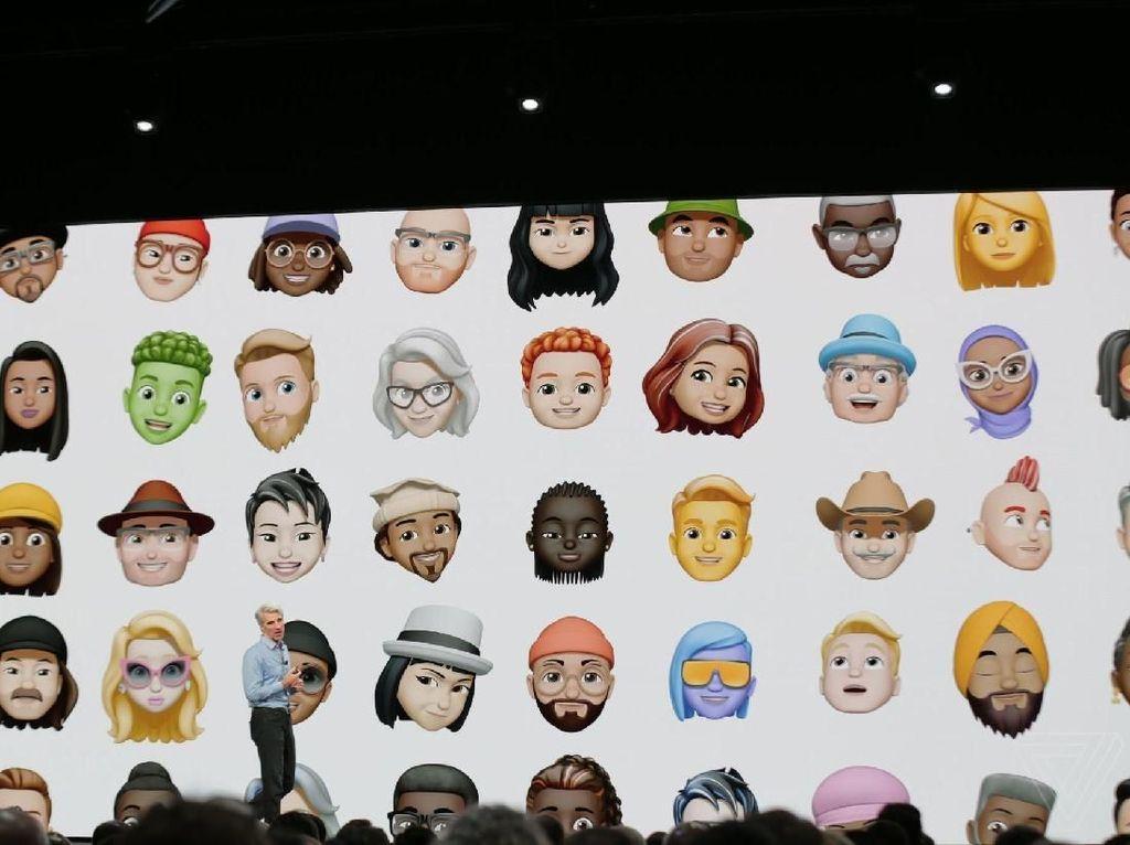 Apple Hadirkan Pesaing Samsung AR Emoji