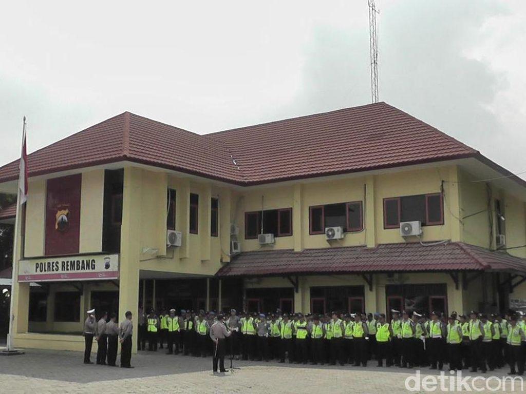 Kantor Koramil dan Polsek di Rembang Jadi Rest Area Pemudik