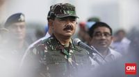 Panglima TNI Marsekal Hadi Tjahjanto ingin ditemui mahasiswa yang berharap TNI ikut serta dalam unjuk rasa di gedung DPR/MPR selanjutnya