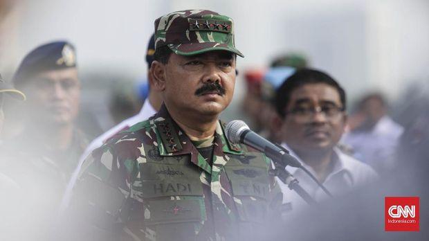 Panglima TNI Hadi Tjahjanto menggantikan Gatot Nurmantyo di FORKI.