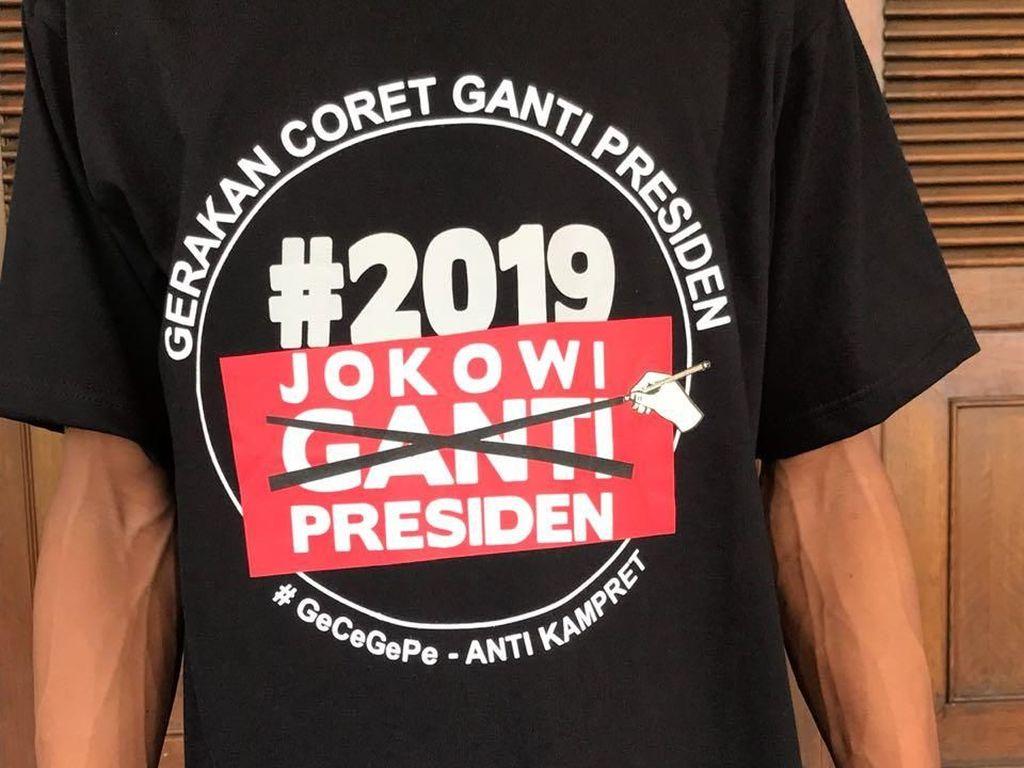 Hanura Bikin Kaus Coret Ganti Presiden, Ada untuk Amien Rais