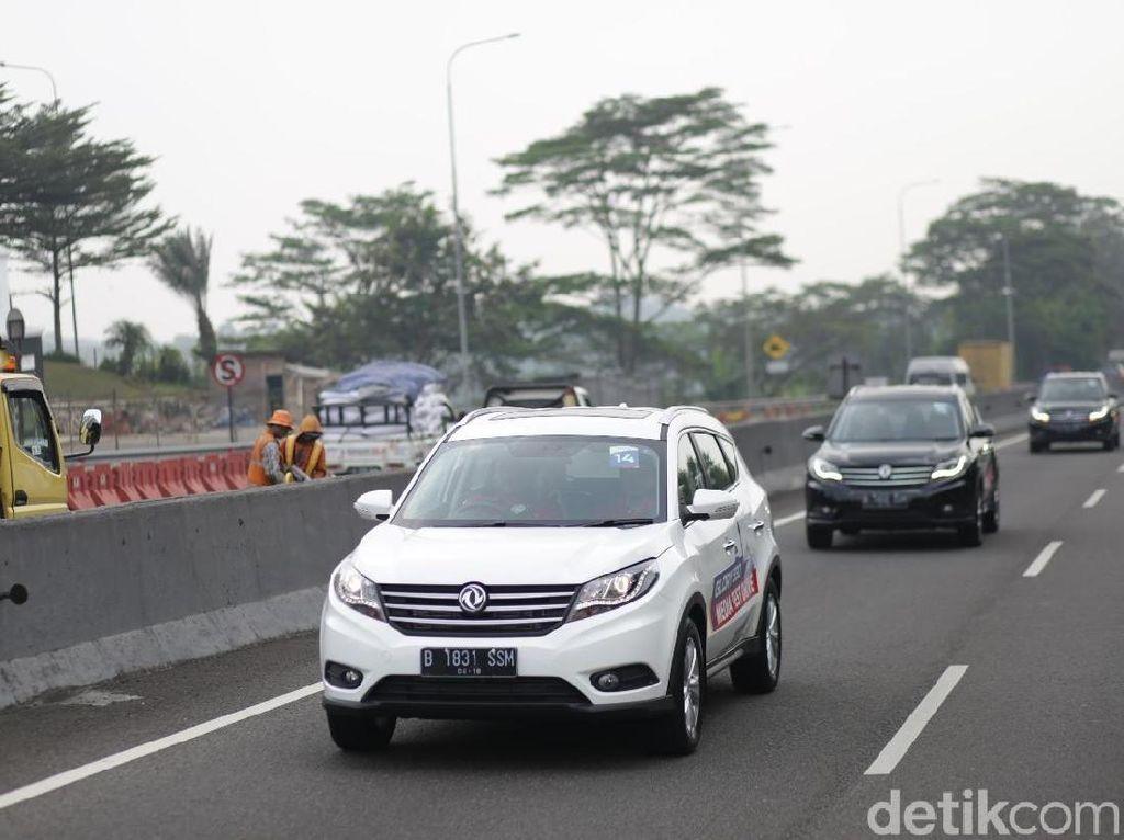 Menguji Mesin Turbo Mobil China, DFSK Glory 580