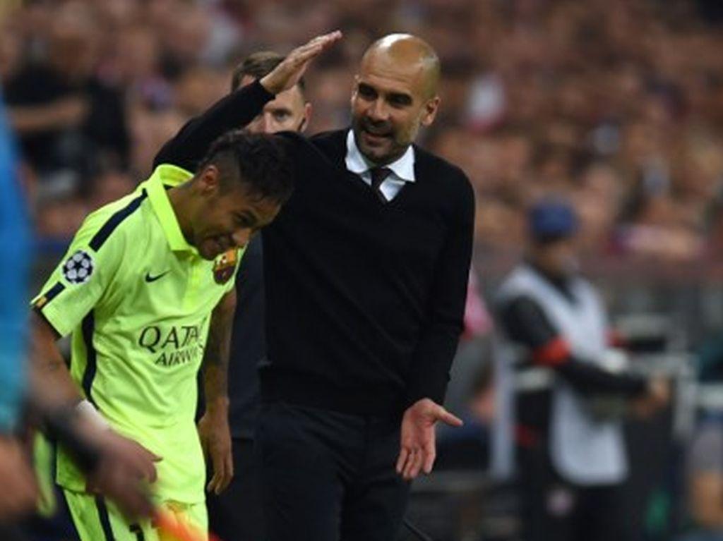 Guardiola: Neymar? Meninggalkan PSG Tidak Mudah