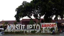Waspada Korona! Bandara Adisutjipto Periksa Penumpang Internasional