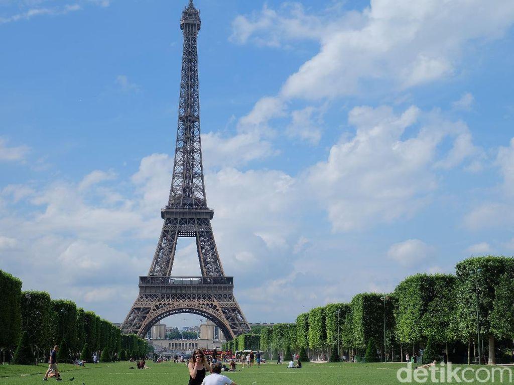 Traveler Sabar Dulu, Prancis Masih Enggan Membuka Menara Eiffel