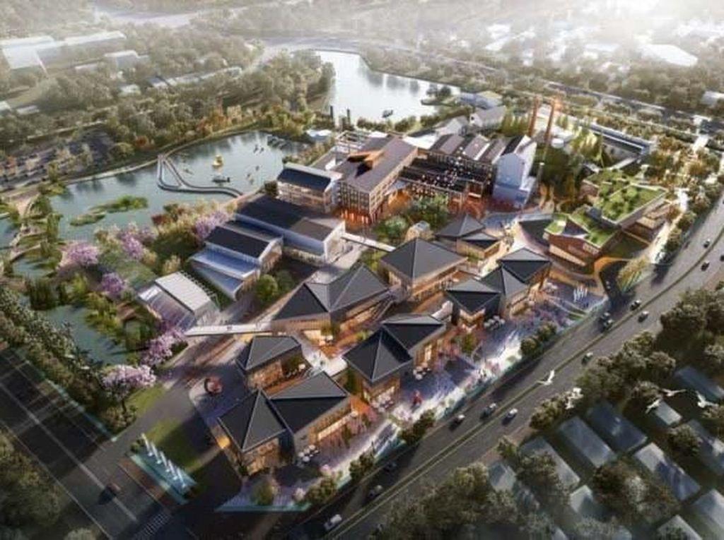 Pabrik Gula Ini akan Disulap Jadi Taman Megah