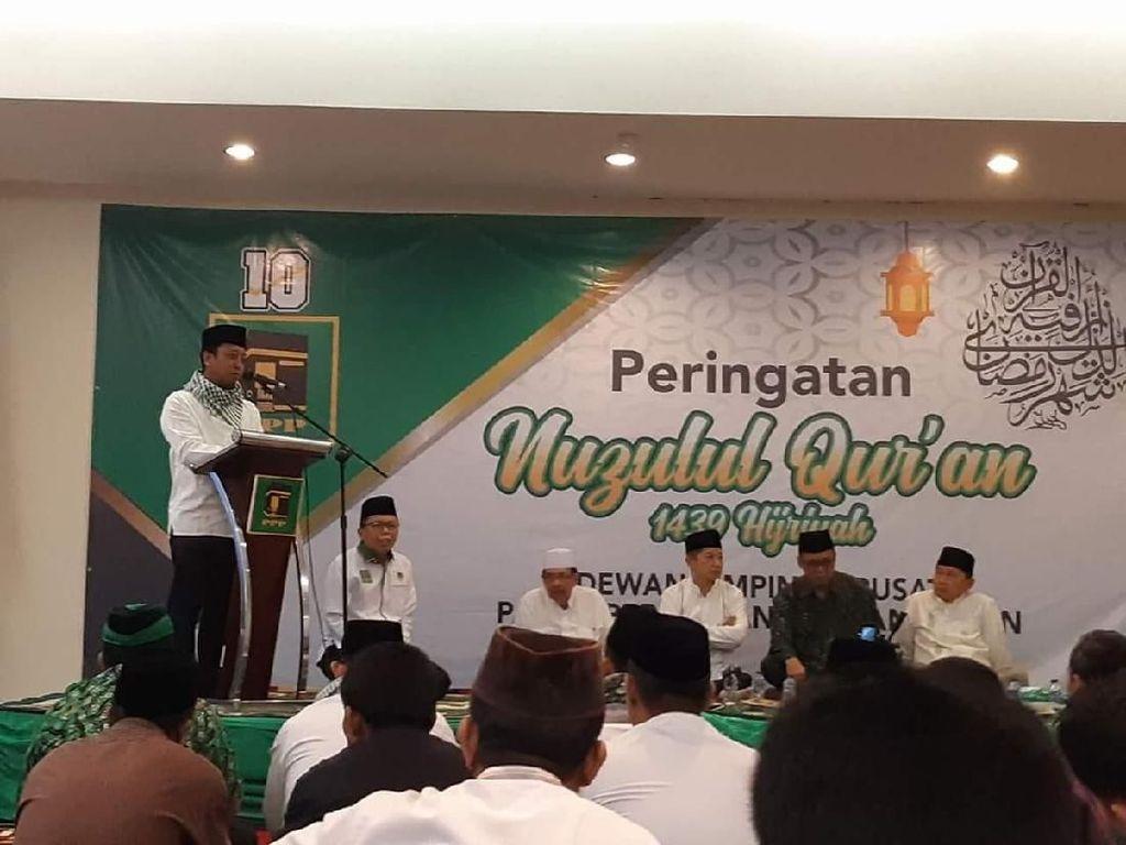 Peringati Nuzulul Quran, PPP Bahas Terorisme