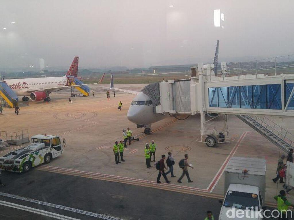 Pompa-Bendungan Disiapkan Agar Bandara Semarang Tak Banjir Lagi