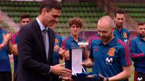 Iniesta Terima Penghargaan Olahraga Tertinggi Spanyol