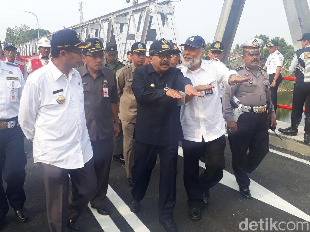 Menengok Jembatan Babat yang Sudah Dibuka untuk Umum