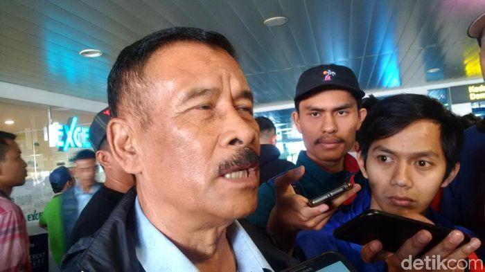Manajer Persib Bandung Umuh Muchtar (Mochamad Solehudin/detikSport)