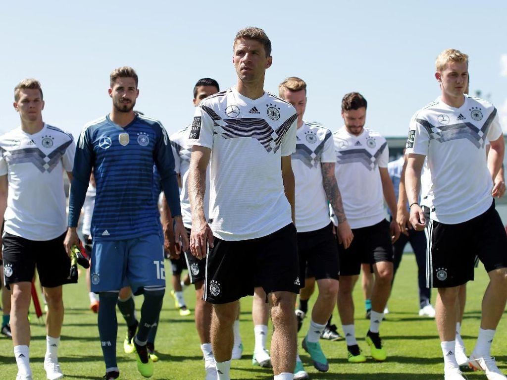 Utak-atik Formasi Juara Bertahan Jerman di Piala Dunia 2018