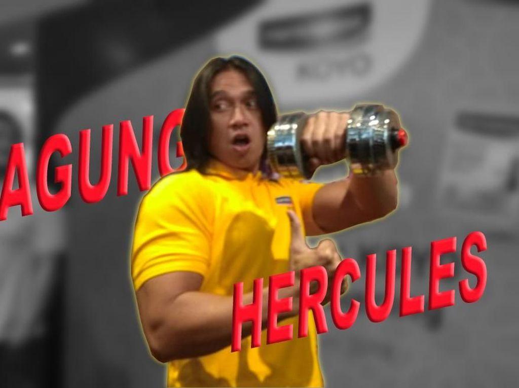 Agung Astuti Hercules: Tidak Goyang, Barbel Melayang!