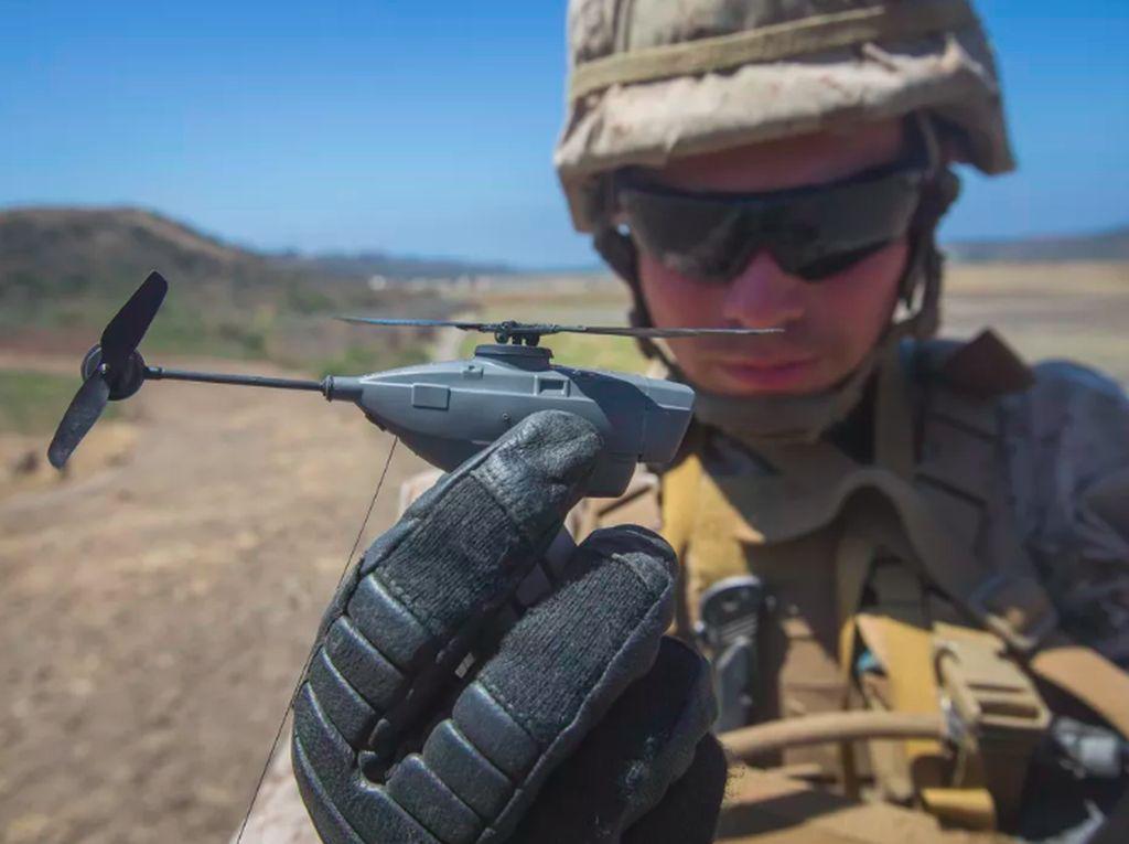 Drone Semungil Jari Jadi Senjata Rahasia Tentara AS