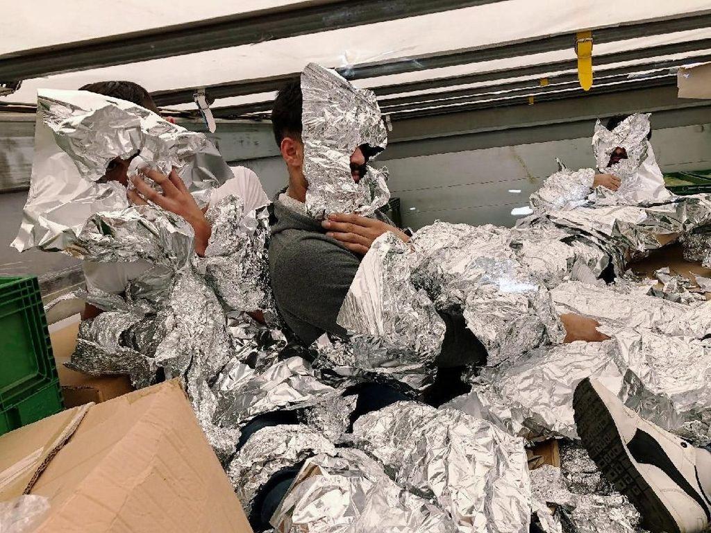 3 Pengungsi Irak Dibungkus Aluminium Foil untuk Kelabui X-Ray