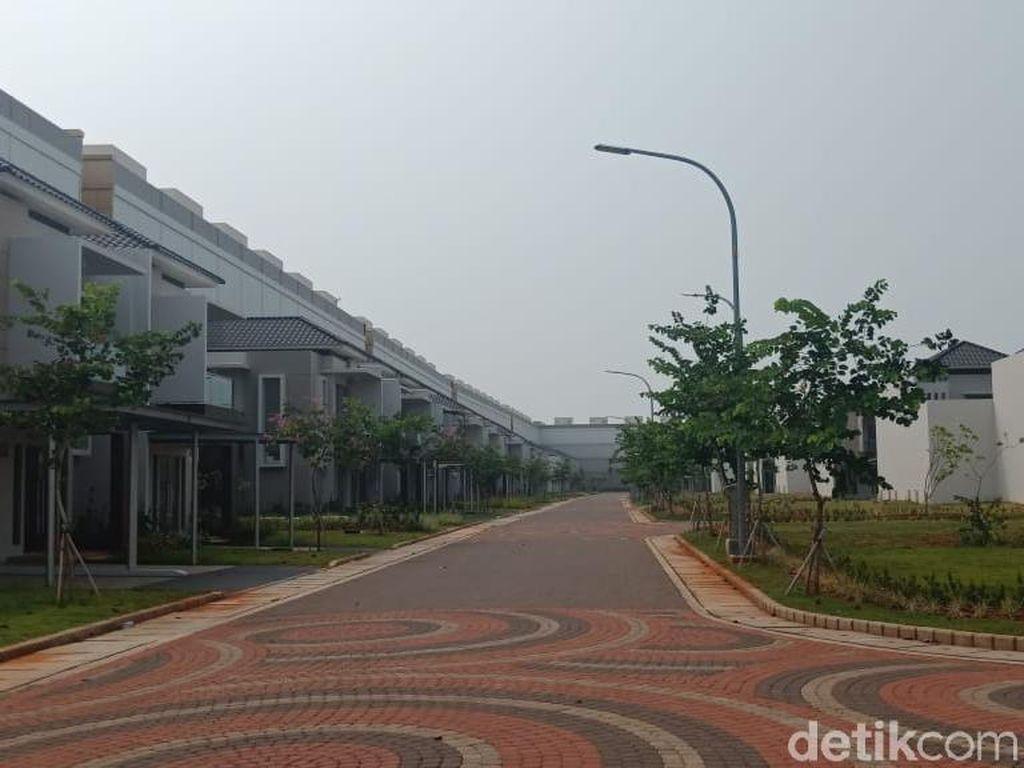 Foto: Rumah-rumah Mewah Pulau D Reklamasi yang Disegel Anies
