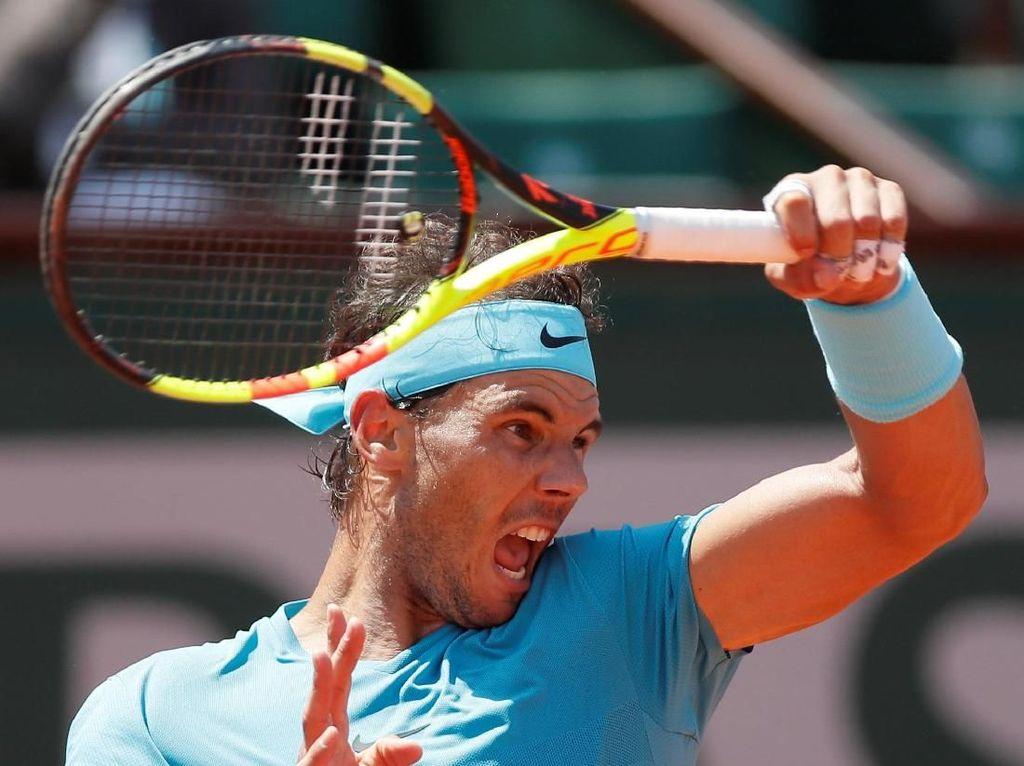 Tarung Empat Set, Nadal Tembus Semifinal