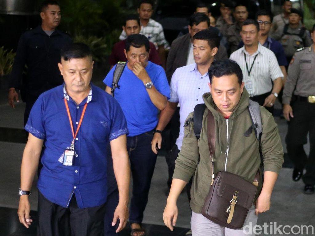 Kena OTT, Kadis PU Tulungagung Tiba di KPK