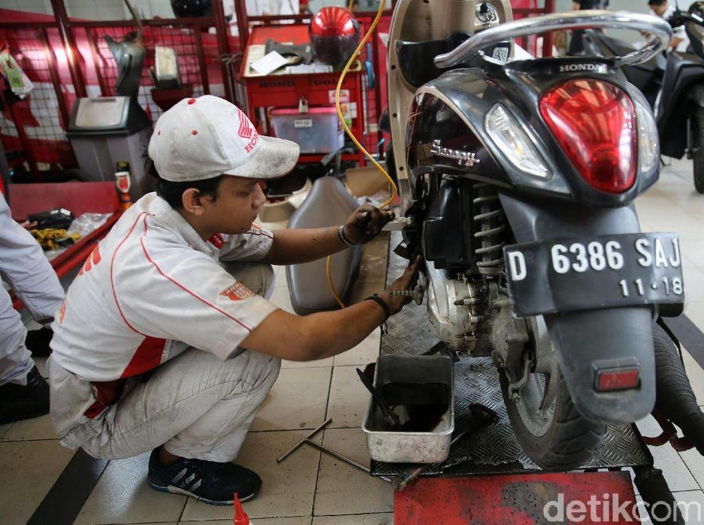 3 Komponen Penting Perawatan Motor Matic