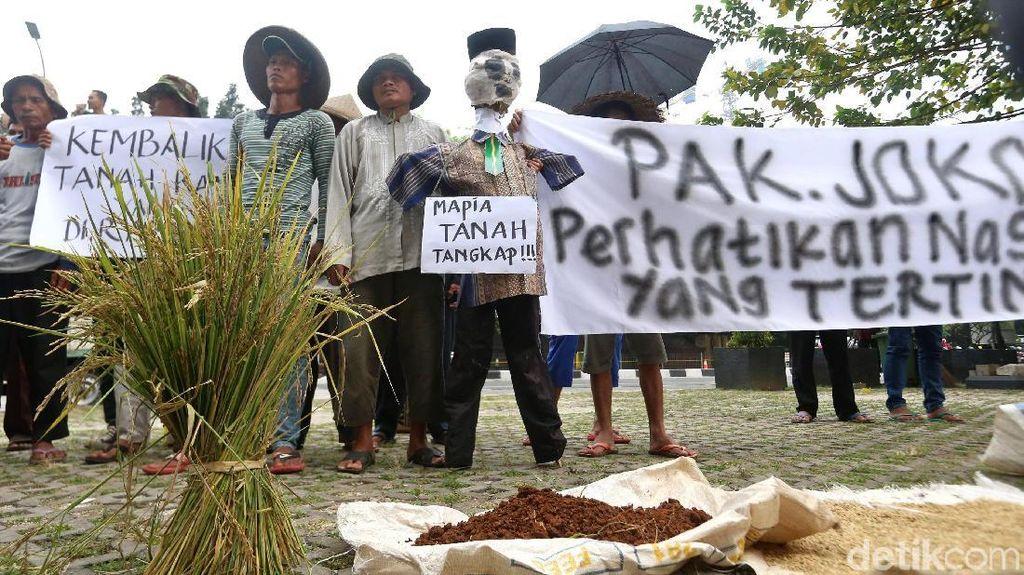 Terusik Mafia Tanah, Petani Jonggol Mengadu ke KPK