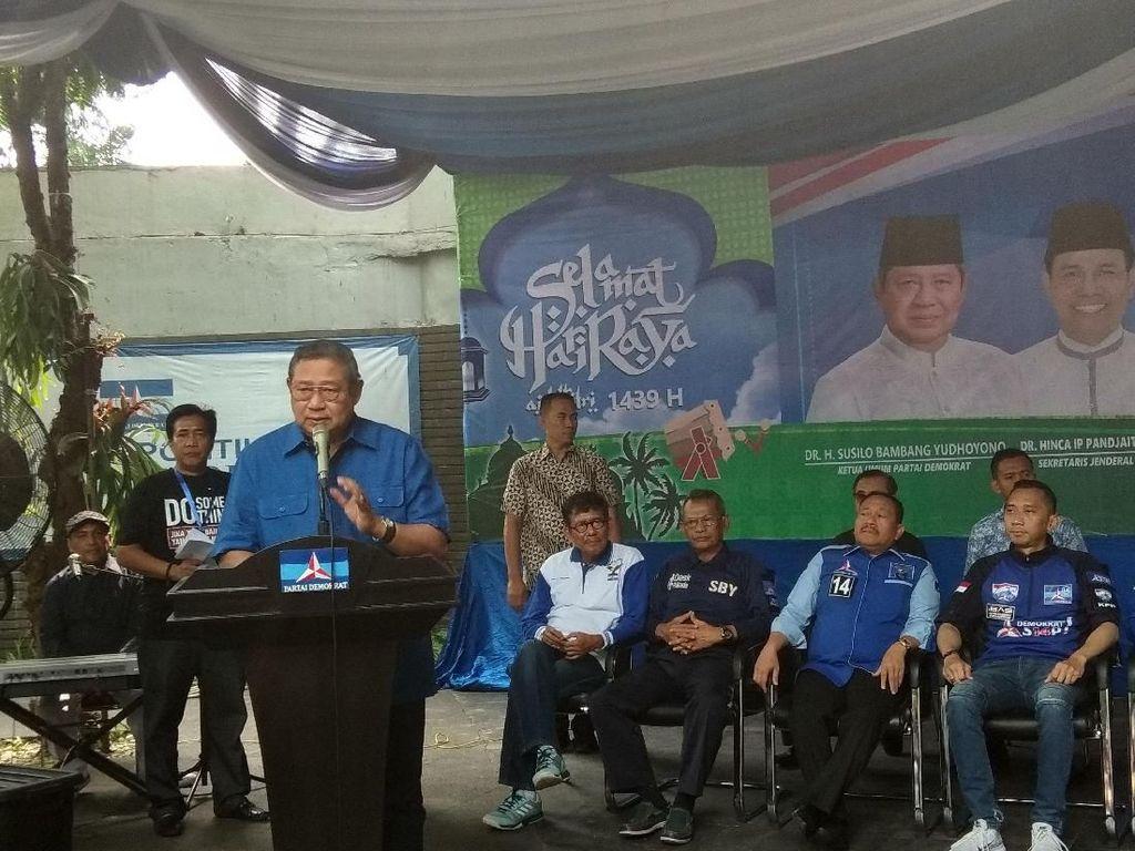 Resmikan Pasar Murah Demokrat, SBY Ingatkan soal Saling Berbagi