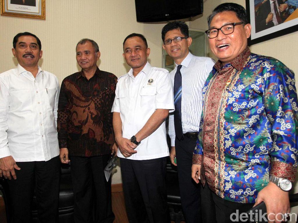 Komisi III Bahas Anggaran untuk KPK, BNN, BNPT dan LPSK