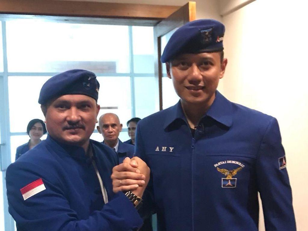 Poyuono Ngaku Batalkan AHY Jadi Cawapres Prabowo, PD: Omong Kosong!