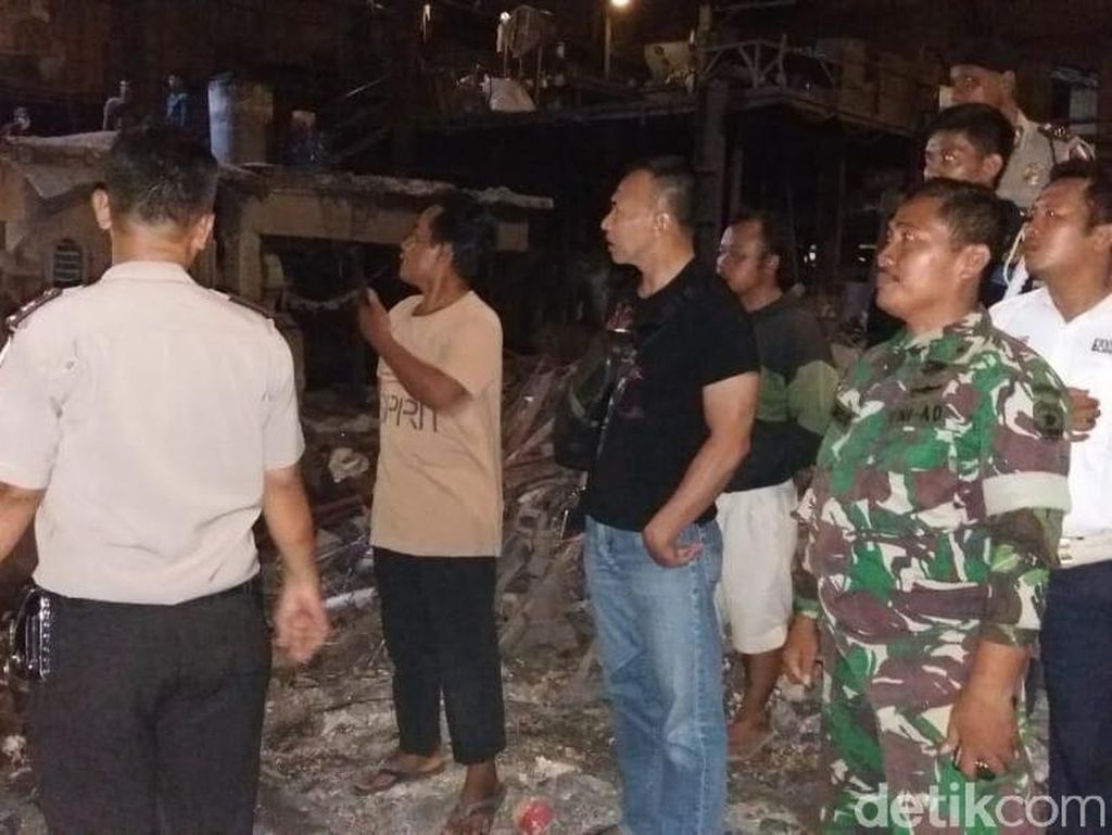 Ledakan di Pabrik Besi Tangerang, 1 Pekerja Terluka