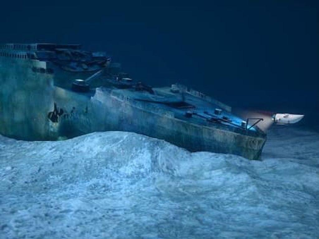 Menyelam ke Situs Bangkai Titanic Ditunda Hingga 2019