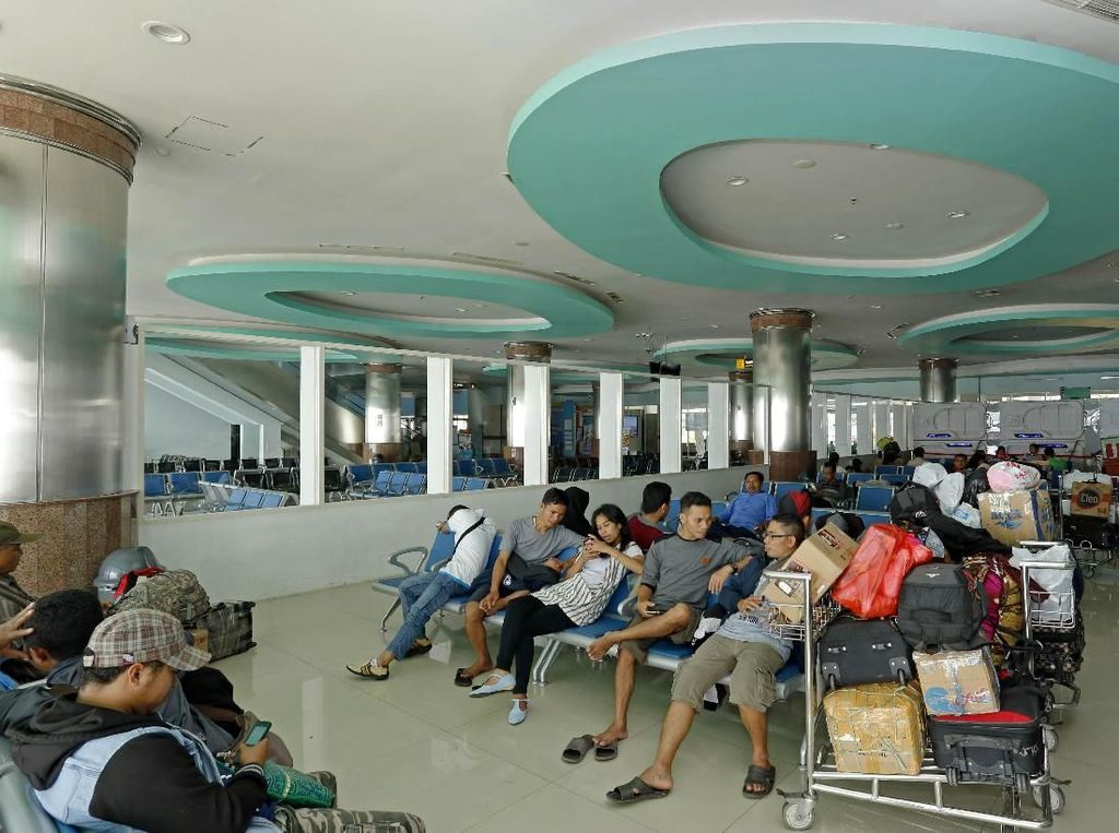 Asyik, Mudik Naik Kapal Laut Terminalnya Senyaman Bandara