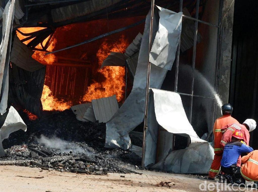 Kerugian Kebakaran di Pabrik Kayu Banjarnegara Rp 300 Juta