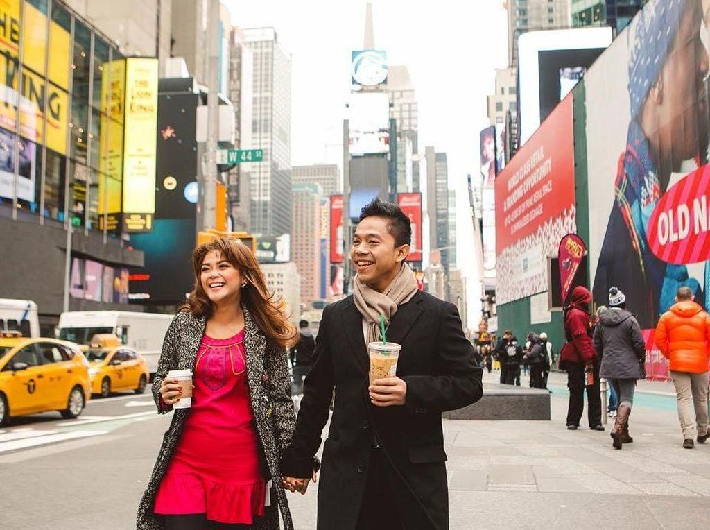 Mesranya 10 Momen Sheza Idris dan Suami Saat Makan di Ubud sampai NYC