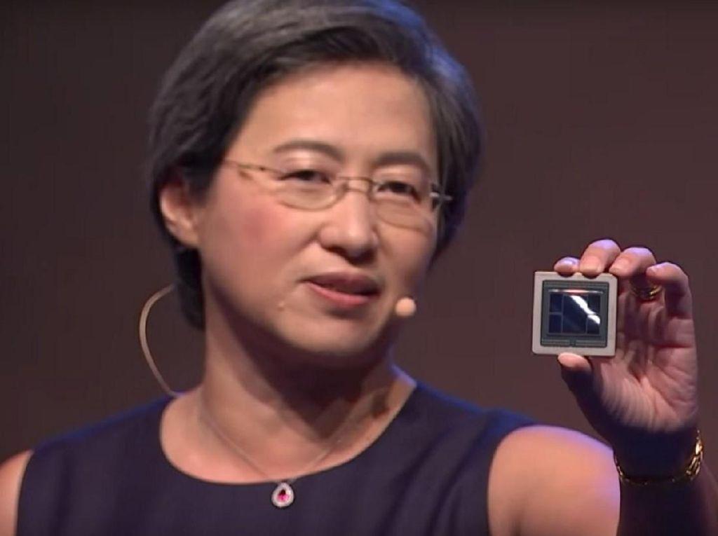 AMD Pamer GPU 7nm Pertama di Dunia
