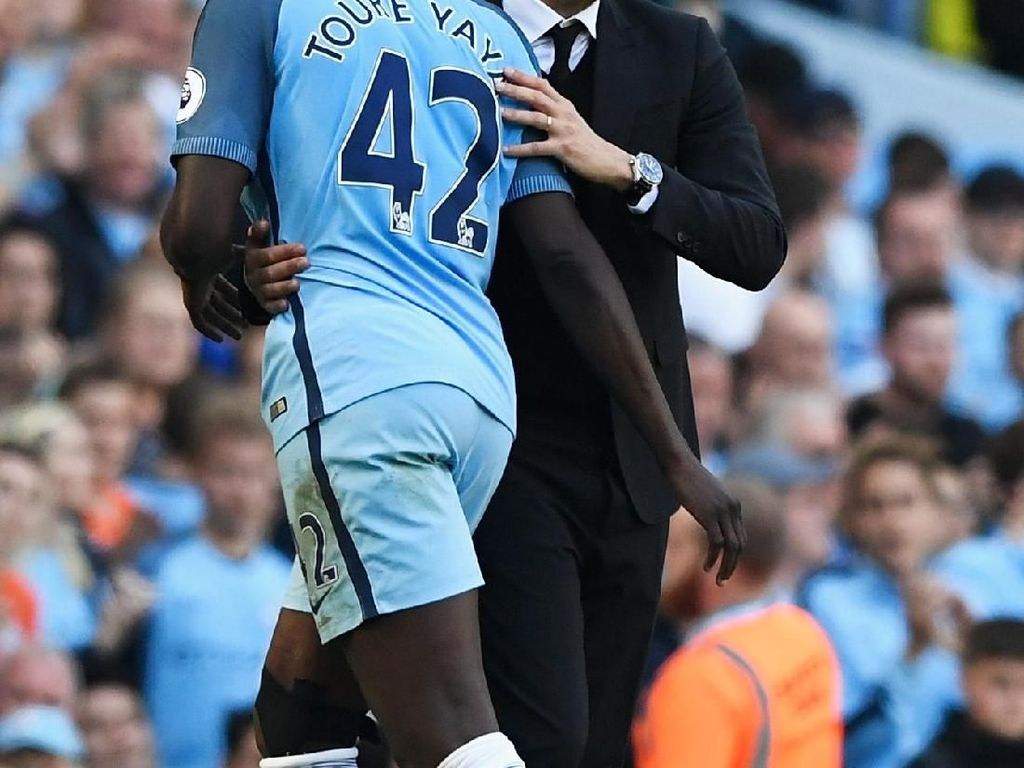 Serang Guardiola Lagi, Yaya Toure: Dia Munafik