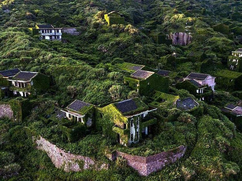 Desa Hantu di China Berubah Sendiri Jadi Cantik