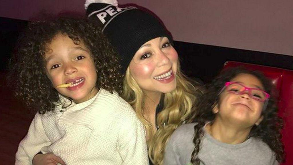 So Sweet! Momen Kebersamaan Mariah Carey dan Anak Kembarnya