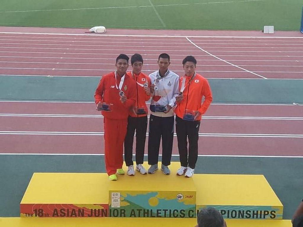 Idan Fauzan Sumbang Perak Lompat Galah di Kejuaraan Atletik Asia Junior 2018