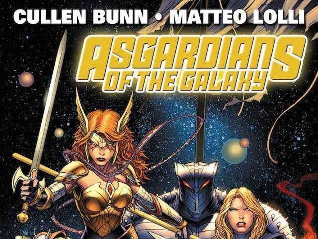 Marvel Comics Ungkap Line Up Komik Asgardians of the Galaxy