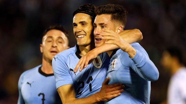 Edinson Cavani bakal jadi salah satu andalan Uruguay di Piala Dunia 2018.