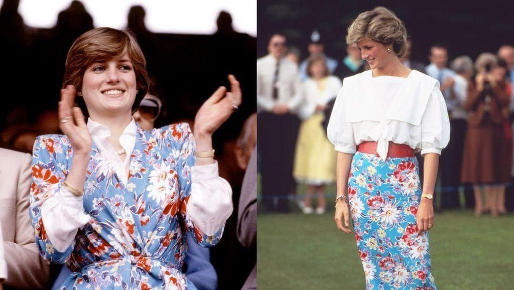 Fashionista Sejati, Momen Putri Diana Recycle Baju Lama Tampil Beda