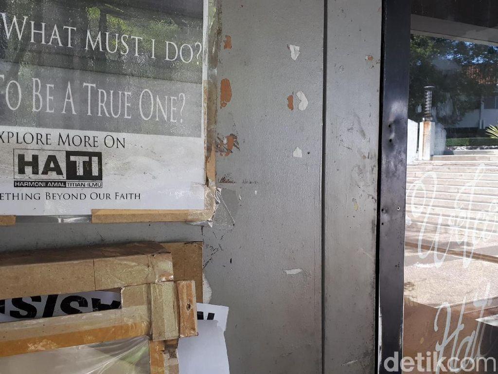 Usai Dibekukan ITB, Sekretariat HATI Tertutup Rapat