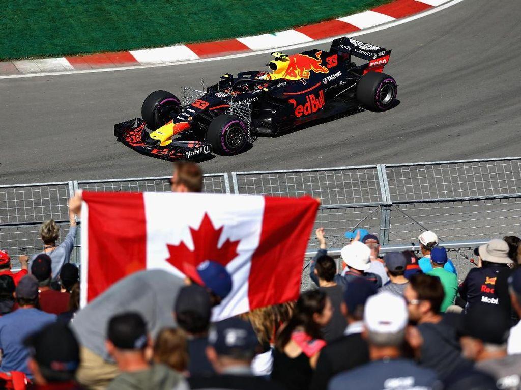 Verstappen Tercepat di Latihan Pertama GP Kanada