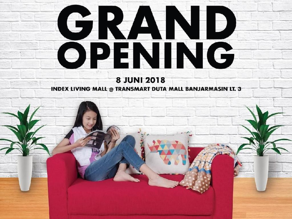 Index Living Mall Hadir di Transmart Banjarmasin, Ini Promonya