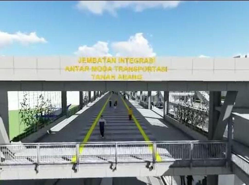 Anies soal Pembangunan Sky Bridge Tn Abang: Jangan Sampai Sia-sia