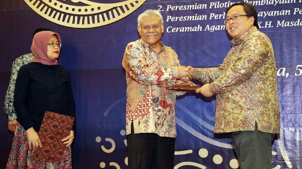 Peresmian Layanan Pengelolaan Zakat Penghasilan ASN di Kementerian PPN