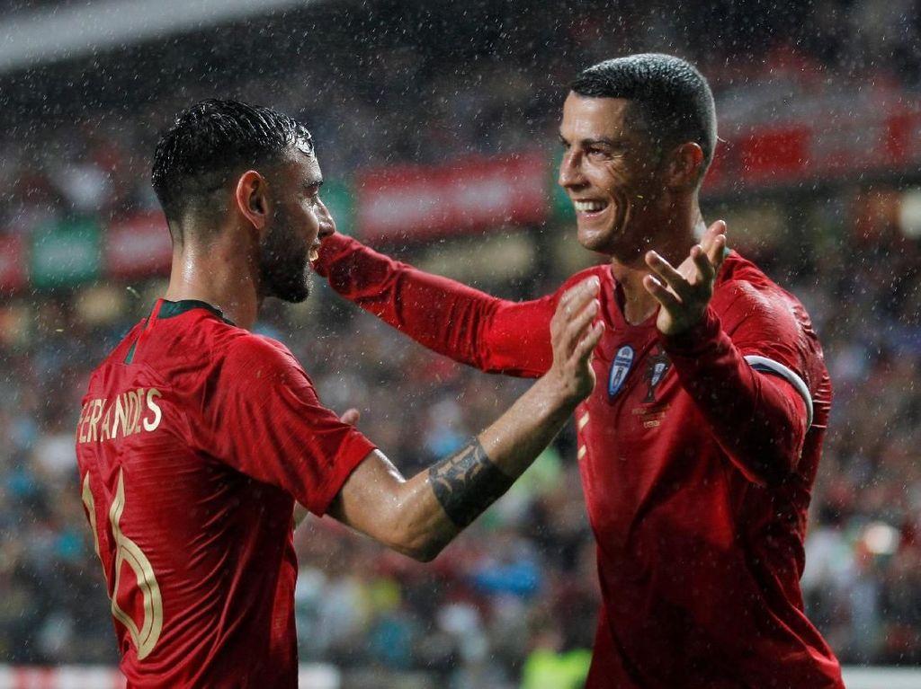 Portugal Kalahkan Aljazair 3-0