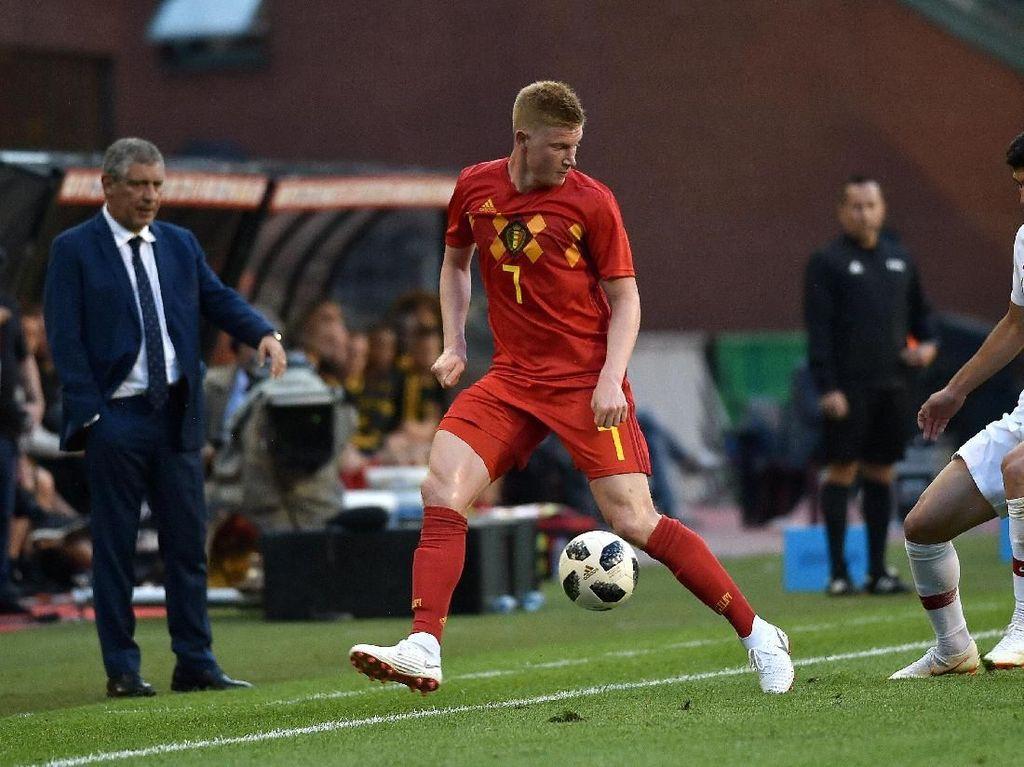 De Bruyne Belum Bikin Gol untuk Belgia, Martinez: Enggak Masalah