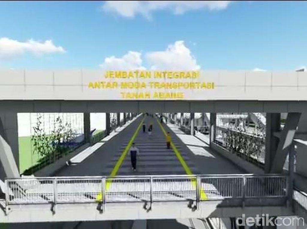 Ngintip Rencana Design Skybridge Tanah Abang